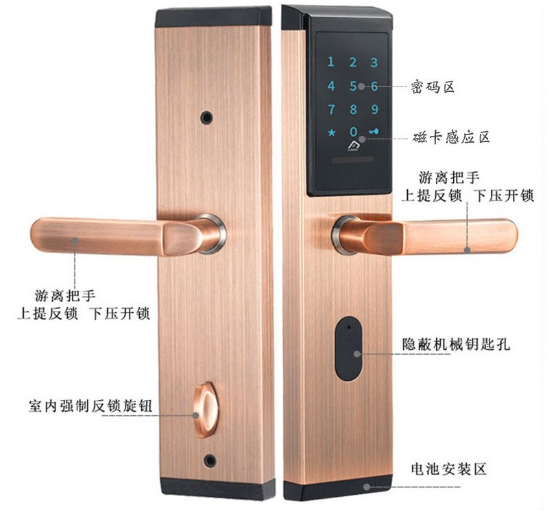 酒店公寓密码锁功能介绍